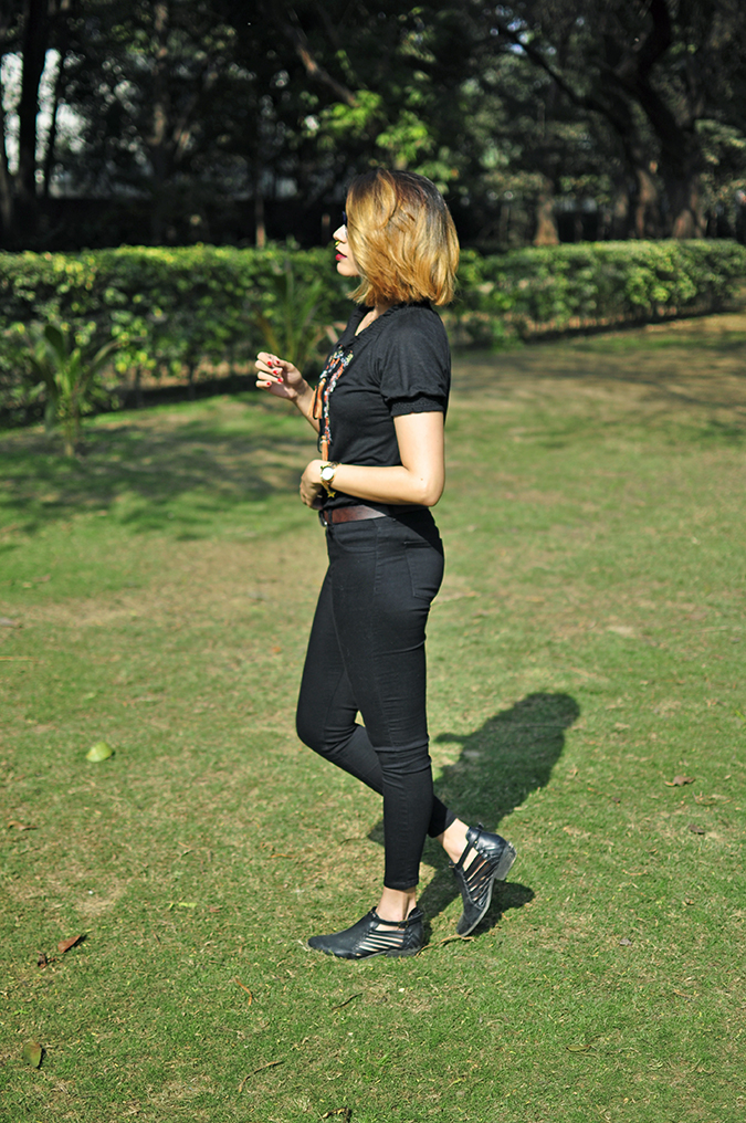 City Black | Sbuys | Akanksha Redhu | full side hair