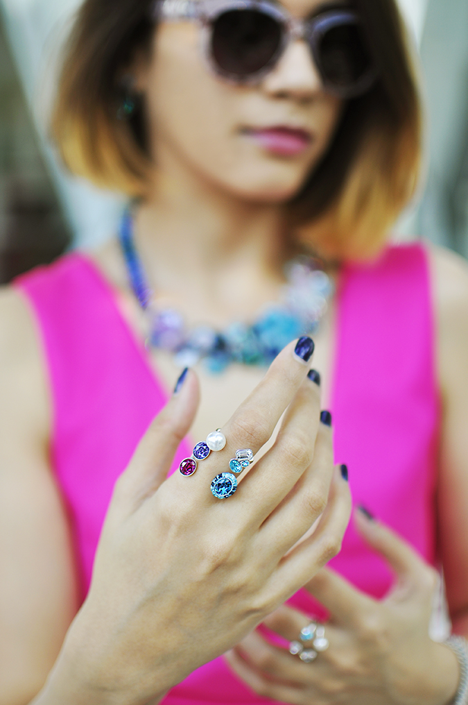 Sea of Sparkle - Swarovski | Akanksha Redhu | halff ront ring focus