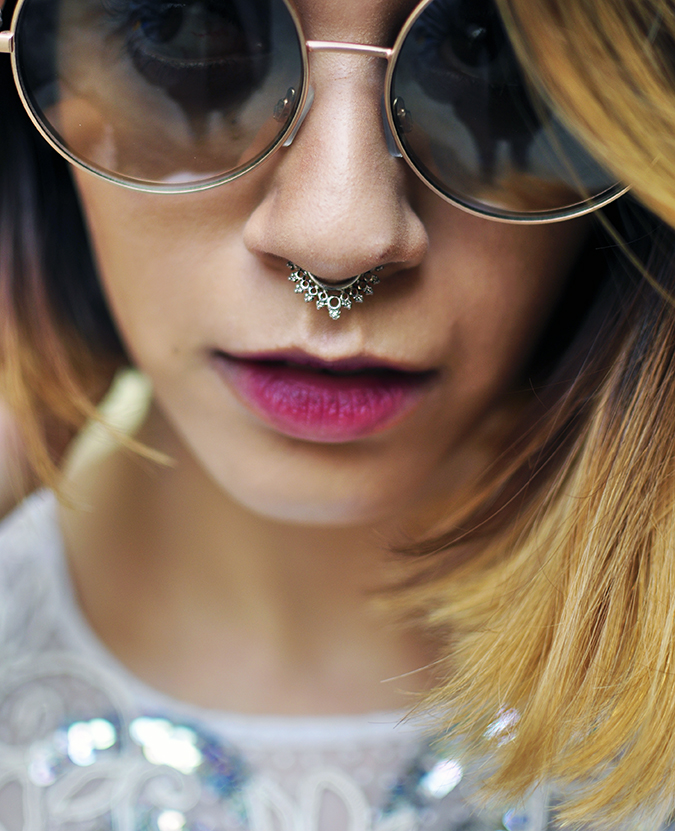 Ether | Akanksha Redhu | Fashion Blogger | septum ring