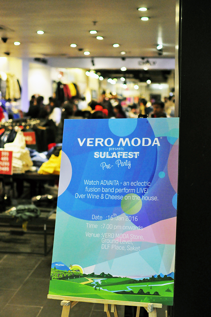 Sula Fest Pre-Party   Vero Moda   Akanksha Redhu   store front long