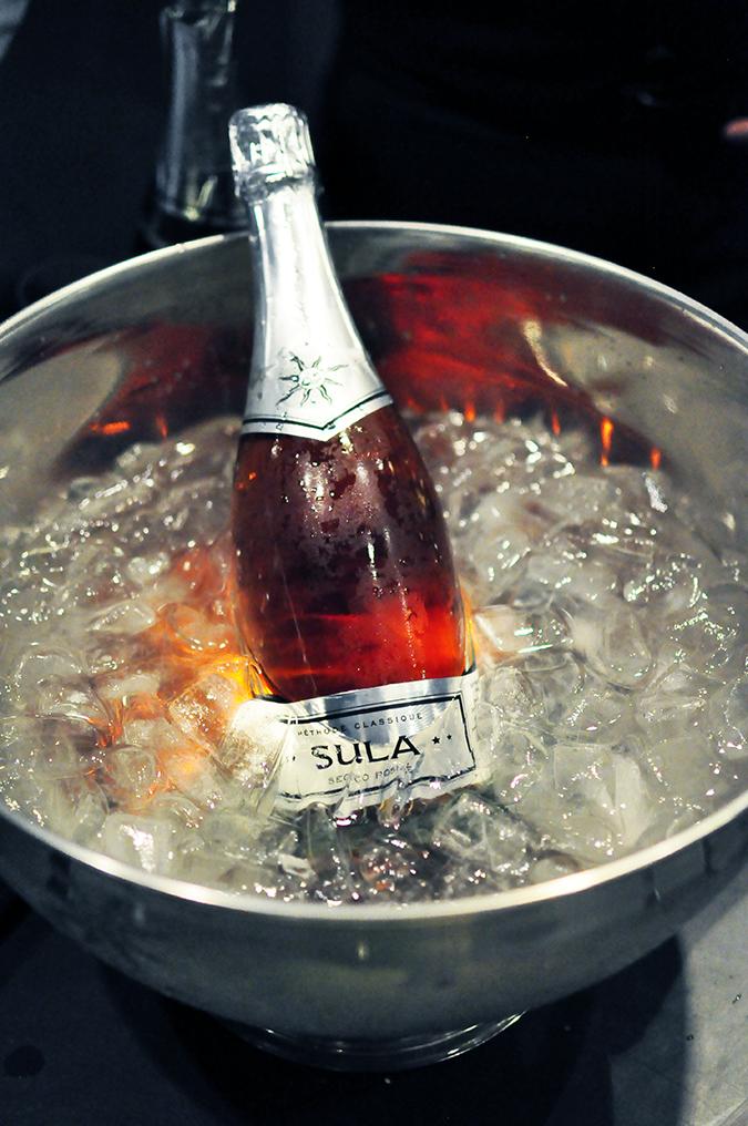 Sula Fest Pre-Party   Vero Moda   Akanksha Redhu   bottle in ice