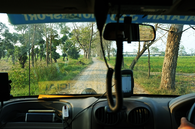 Akanksha Redhu | Travel India | road through car