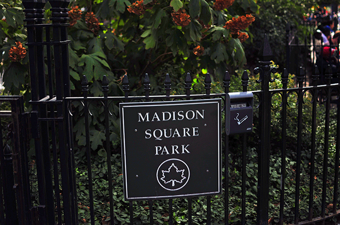 #RedhuxNYC | madison square park