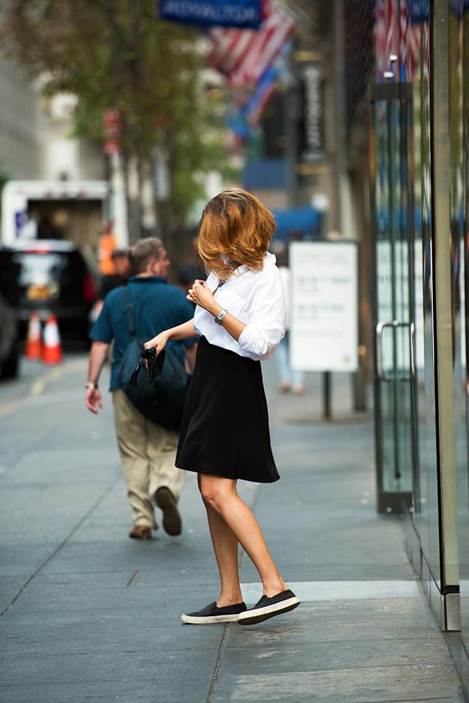 New York | Akanksha Redhu | #RedhuxNYC | full sdie sidewalk hair