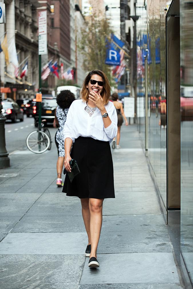 New York | Akanksha Redhu | #RedhuxNYC | walking smile