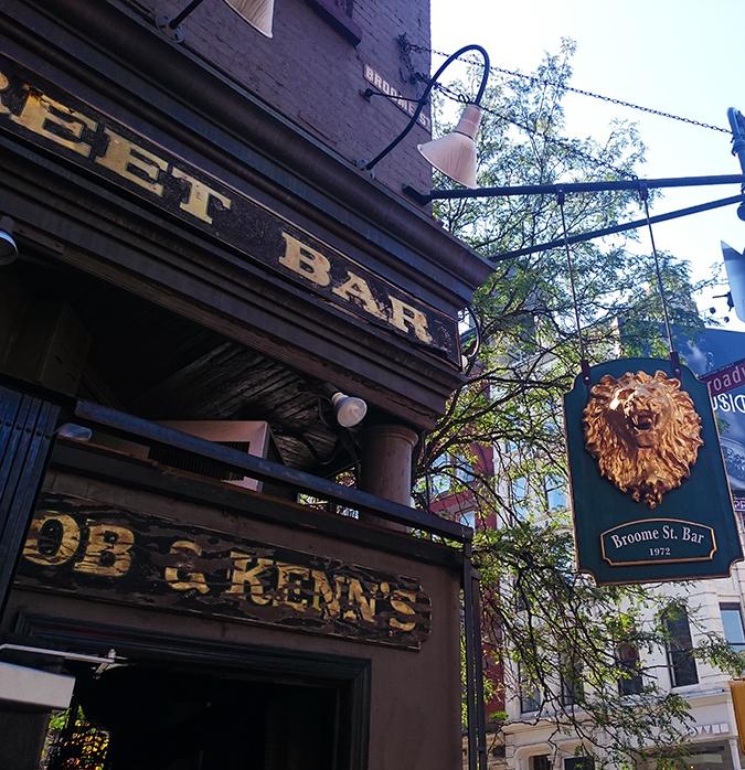 New York | Akanksha Redhu | #RedhuxNYC | bar signage