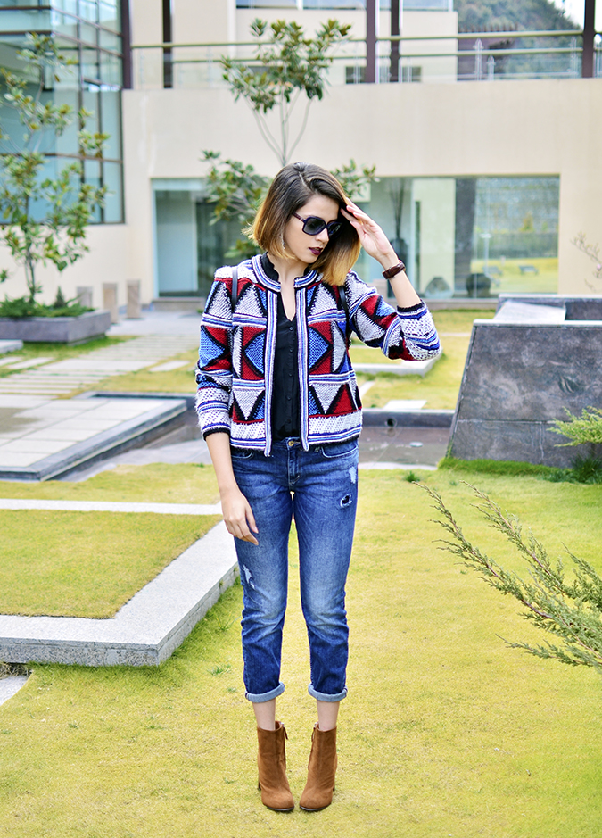 Riff - Raff | Look of the Day | Akanksha Redhu | full front straight