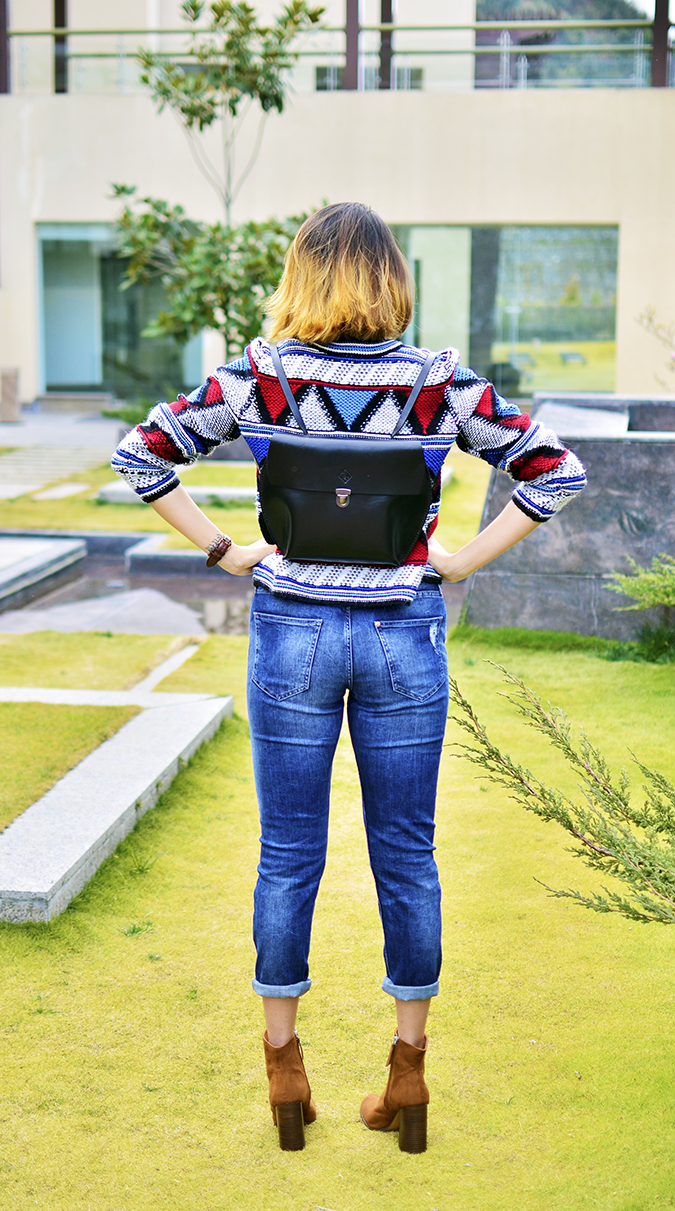 Riff - Raff | Look of the Day | Akanksha Redhu | full back