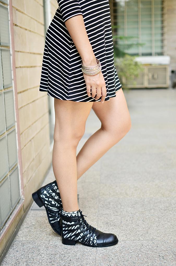 Stripes | Sbuys | Akanksha Redhu | half side lower