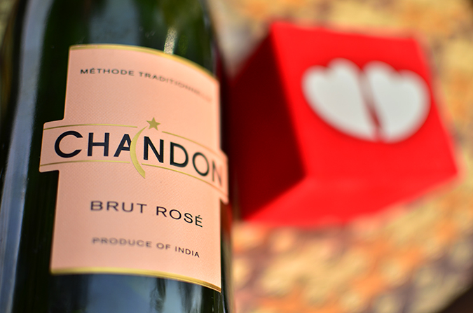 Valentine's Day Ready | Chandon India | Akanksha Redhu | bottle label