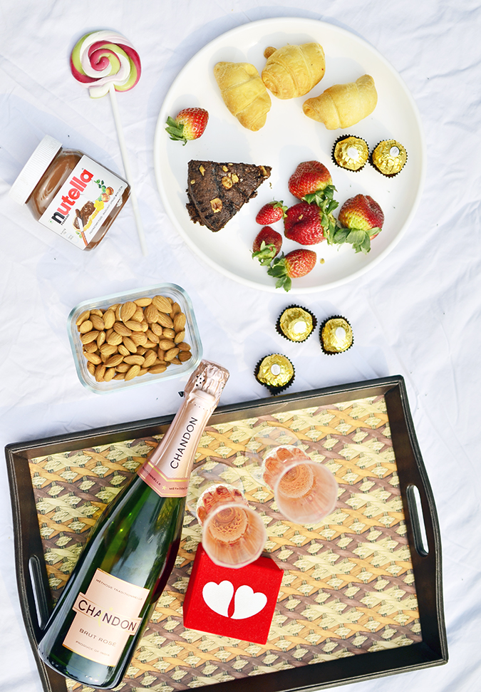 Valentine's Day Ready | Chandon India | Akanksha Redhu | flatlay