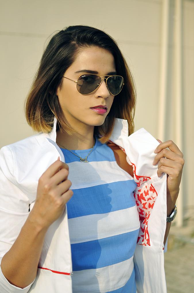 Kaaryah | Akanksha Redhu | half front jacket lining
