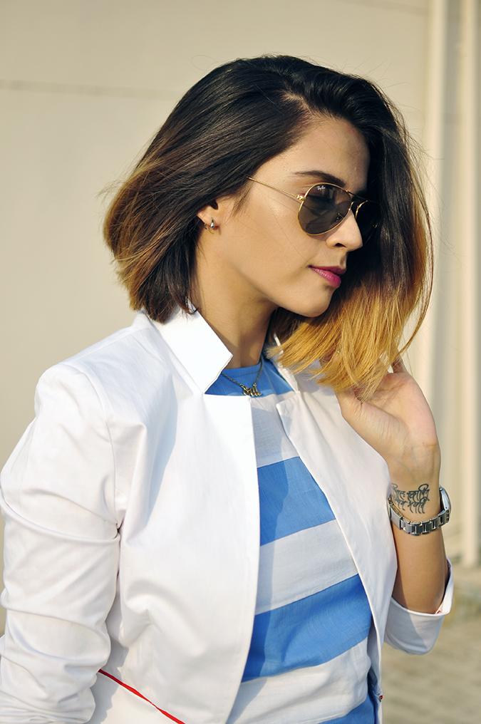 Kaaryah | Akanksha Redhu | half side arm in hair