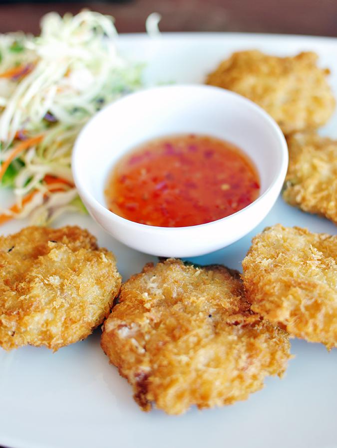 Lad Koh | Koh Samui | Thailand | Akanksha Redhu | prawn cakes