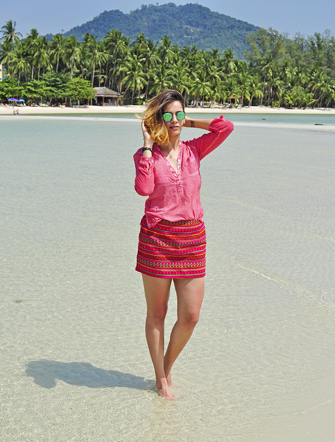 Coconut Beach   Koh Samui   Akanksha Redhu   #RedhuxKohSamui   full frnt far hill back