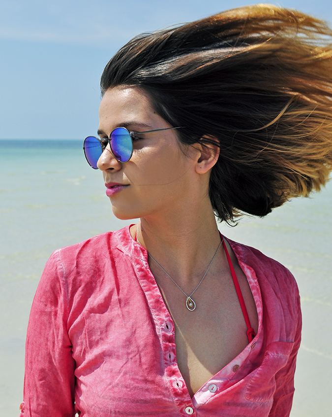 Coconut Beach   Koh Samui   Akanksha Redhu   #RedhuxKohSamui   hair flying