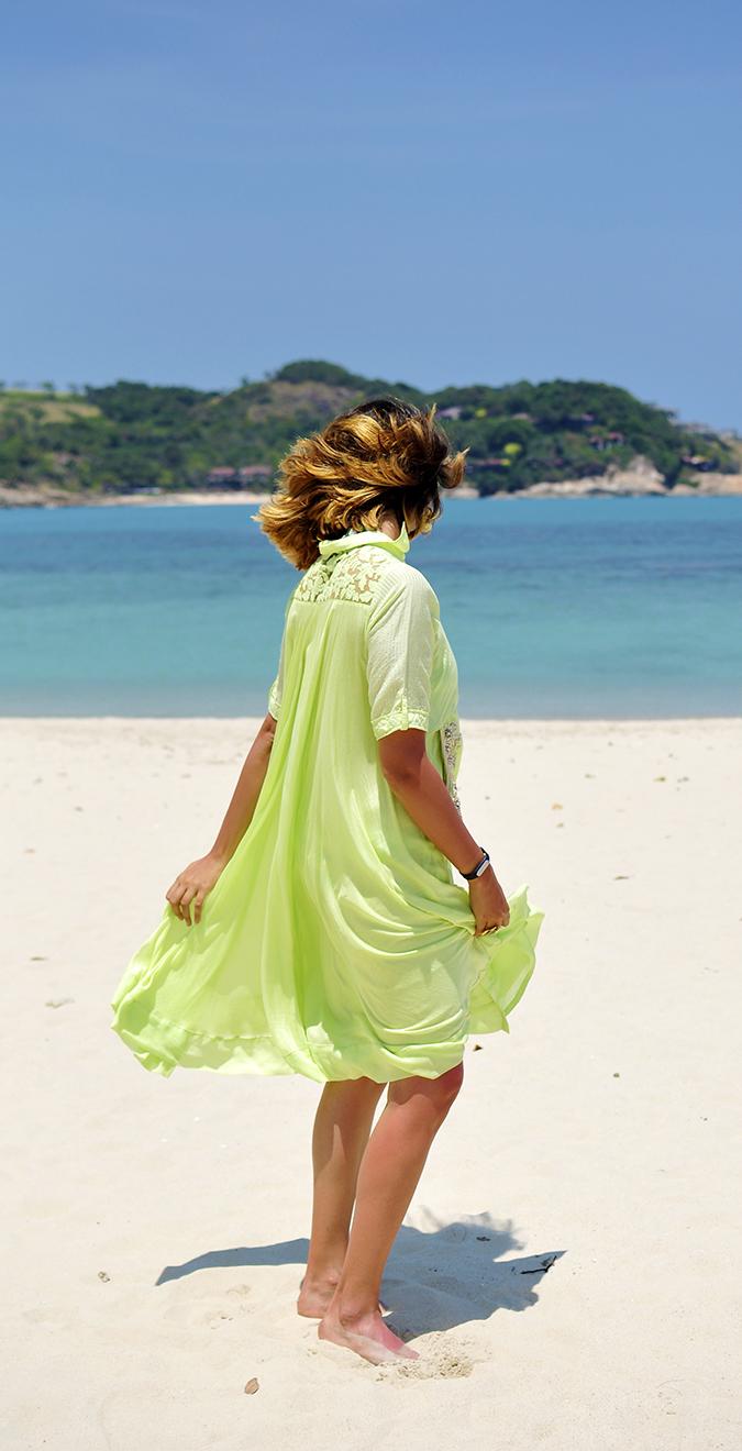 Chichouse | Choeng Mon Beach | Koh Samui | Akanksha Redhu | full twirl hair visible