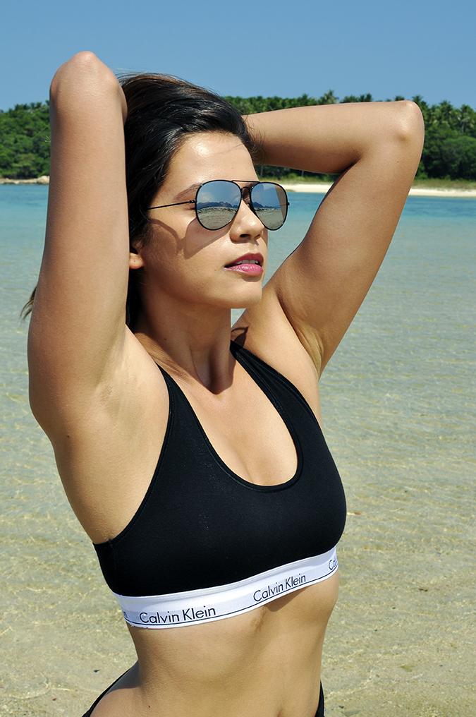 #mycalvins | Koh Samui | Akanksha Redhu | half front arms riased