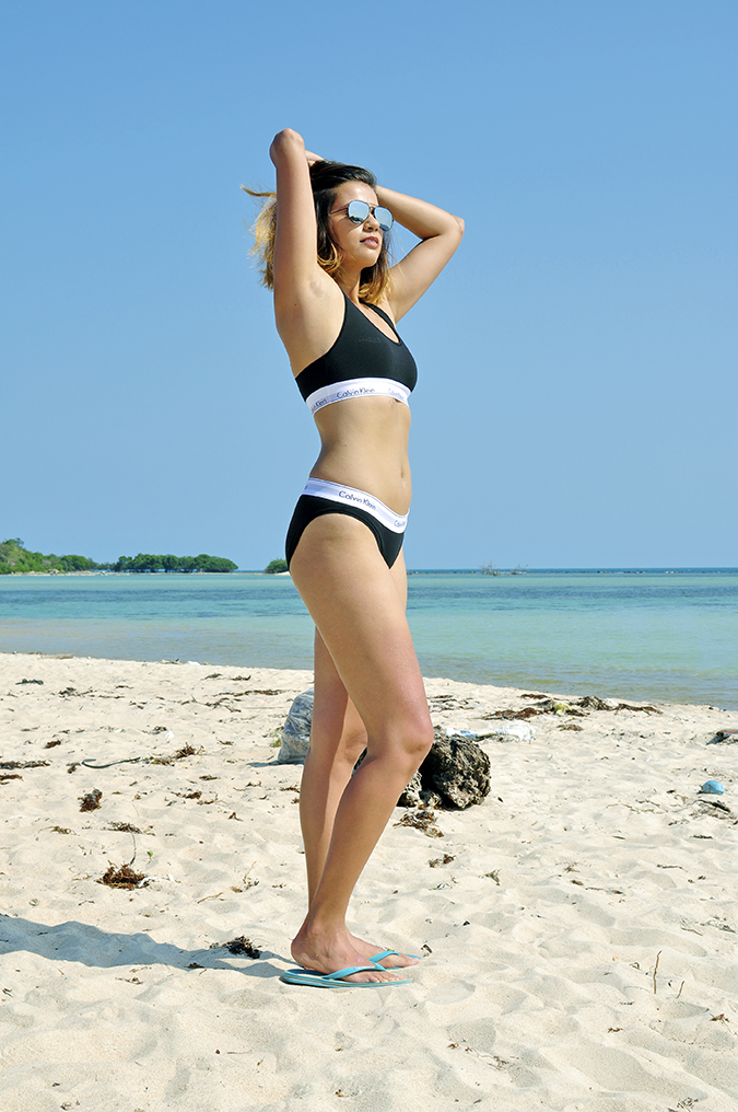 #mycalvins | Koh Samui | Akanksha Redhu | full side from below underwear