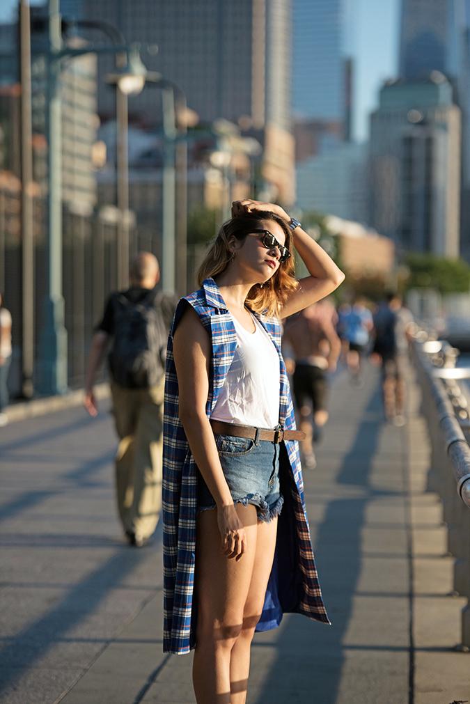 Hudson River Greenway | Akanksha Redhu | #RedhuxNYC | #eyesfornewyork | half side wtc back