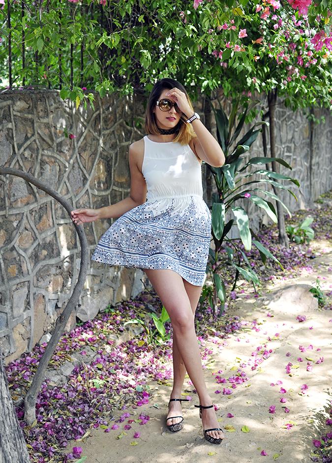 Sbuys | Akanksha Redhu | full front leg crossed dress fly