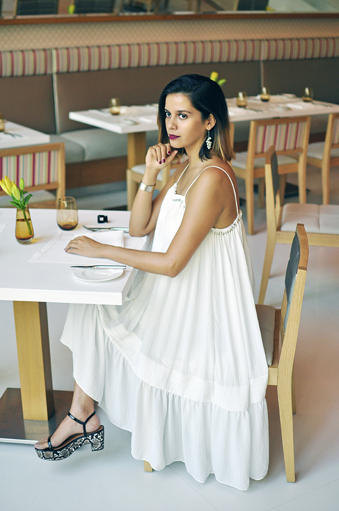 Estée Lauder | Akanksha Redhu | sitting full dress