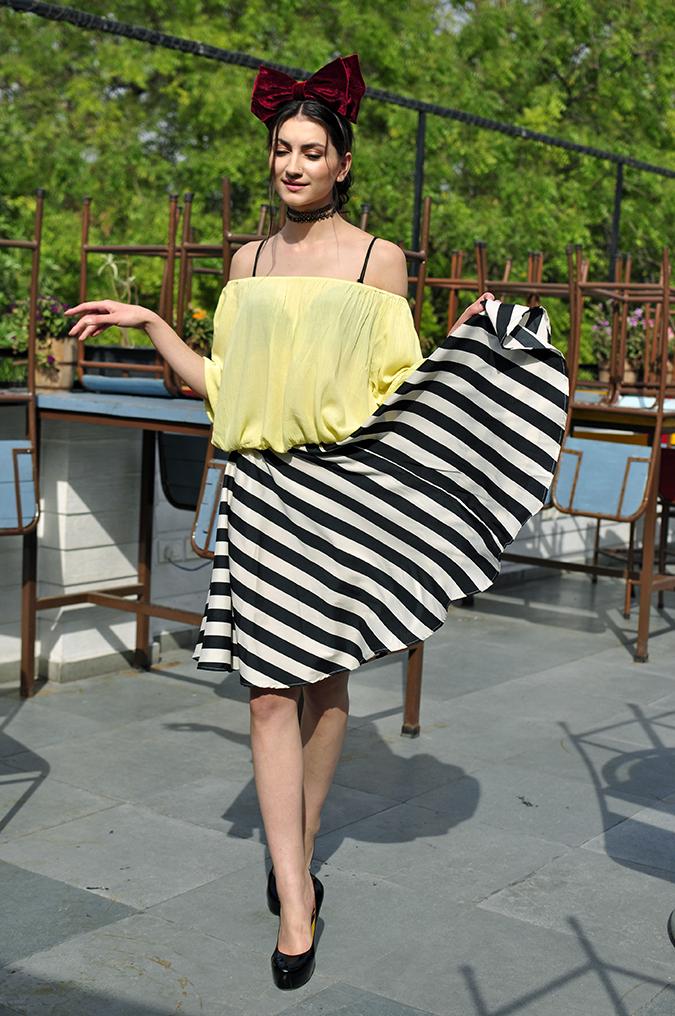 Oxolloxo | Akanksha Redhu | full front eva skirt