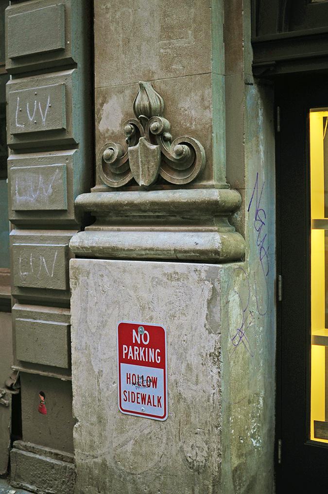 Soho | NYC | Akanksha Redhu | no standing sign