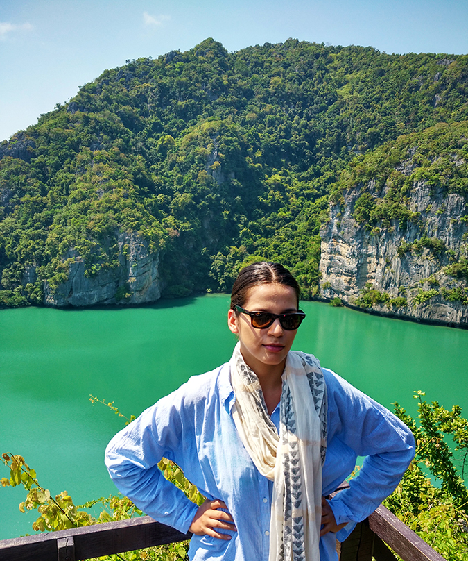 Ang Thong National Marine Park | Akanksha Redhu | me at emerald lake