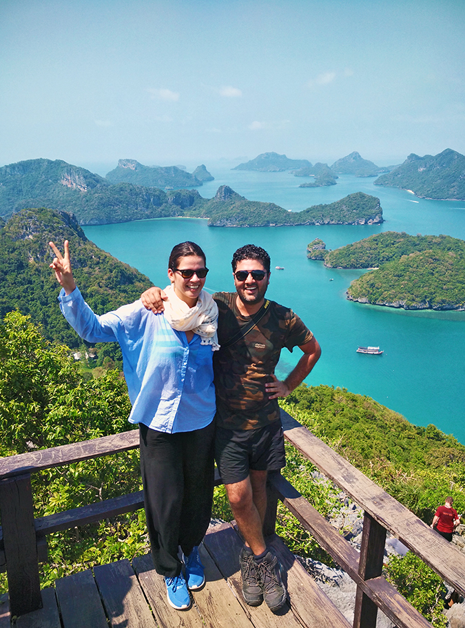 Ang Thong National Marine Park | Akanksha Redhu | both at viewpoint