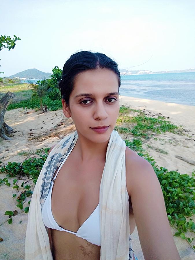 Koh Samui | Akanksha Redhu | white bikini