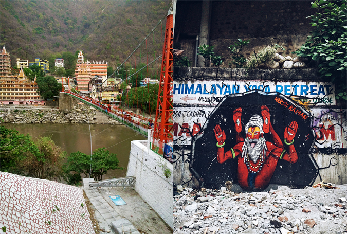 Rishikesh | Akanksha Redhu | Harsh graffiti combo