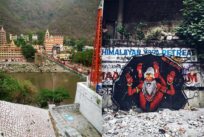 Rishikesh | Akanksha Redhu | Harsh graffiti combo