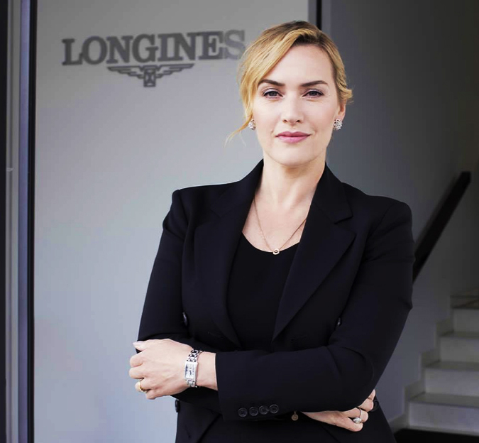 Longines | Akanksha Redhu | standing with branding at back