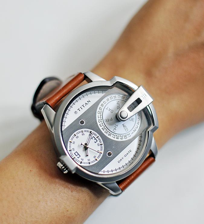 Titan | Akanksha Redhu | watch on hand slanted
