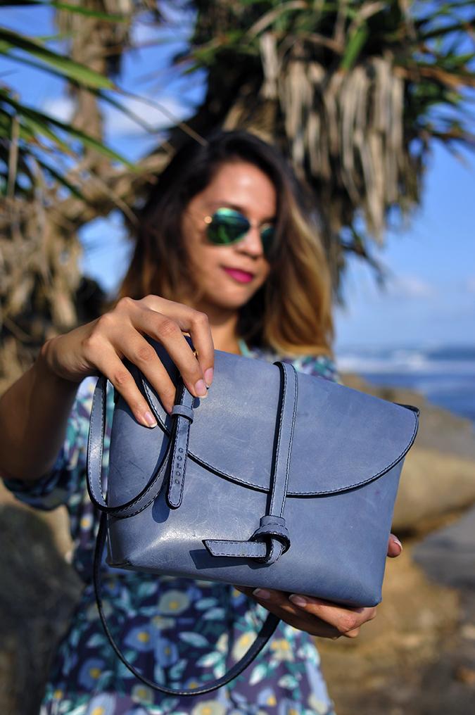 Bali | Akanksha Redhu | bag in front focus