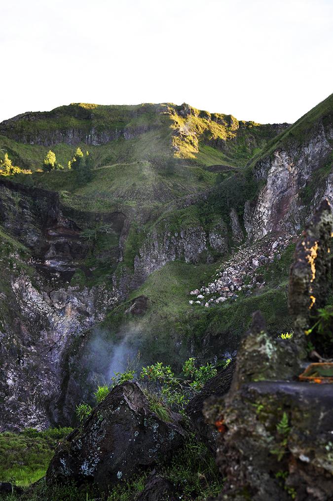 Mount Batur Sunrise Trek | Bali | Akanksha Redhu | volcanic steam
