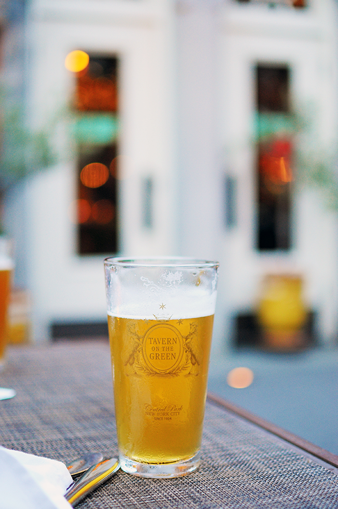 Tavern on the Green - Central Park | NYC | Akanksha Redhu | beer light long