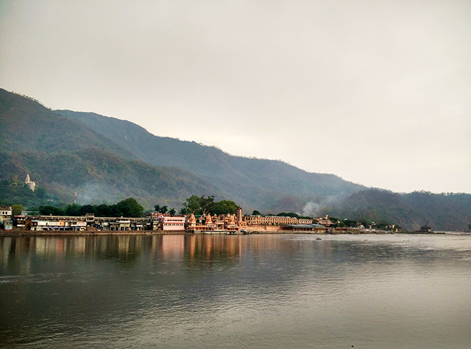 Rishikesh | Akanksha Redhu | temple from across the river