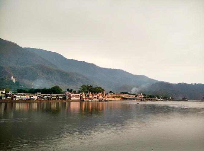 Rishikesh | Akanksha Redhu | temple from across the river