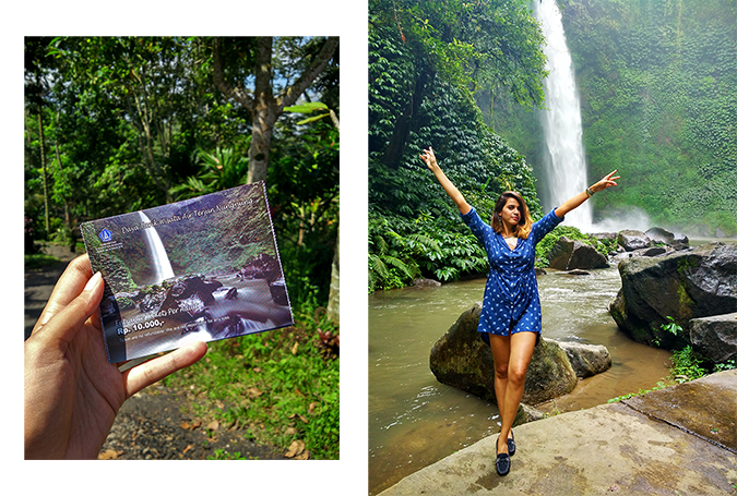 Nungnung Waterfall | Bali | Akanksha Redhu | combo ticket full front