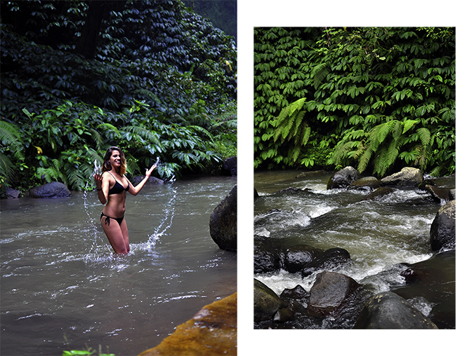 Nungnung Waterfall | Bali | Akanksha Redhu | combo bikini