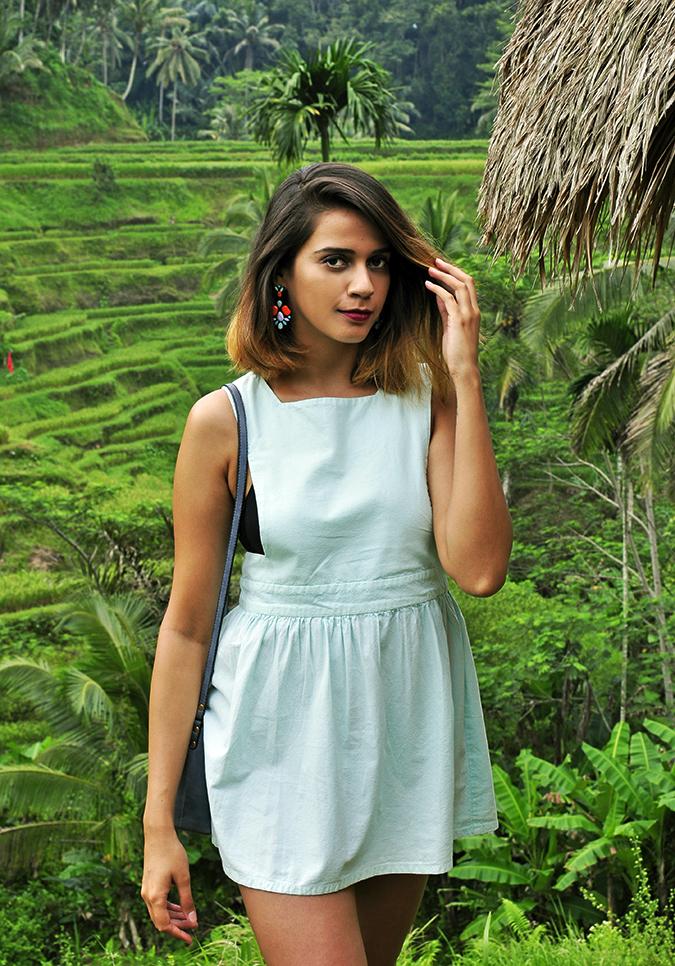 Tegalalang Rice Terraces - Ubud | Bali | Akanksha Redhu | half front hut
