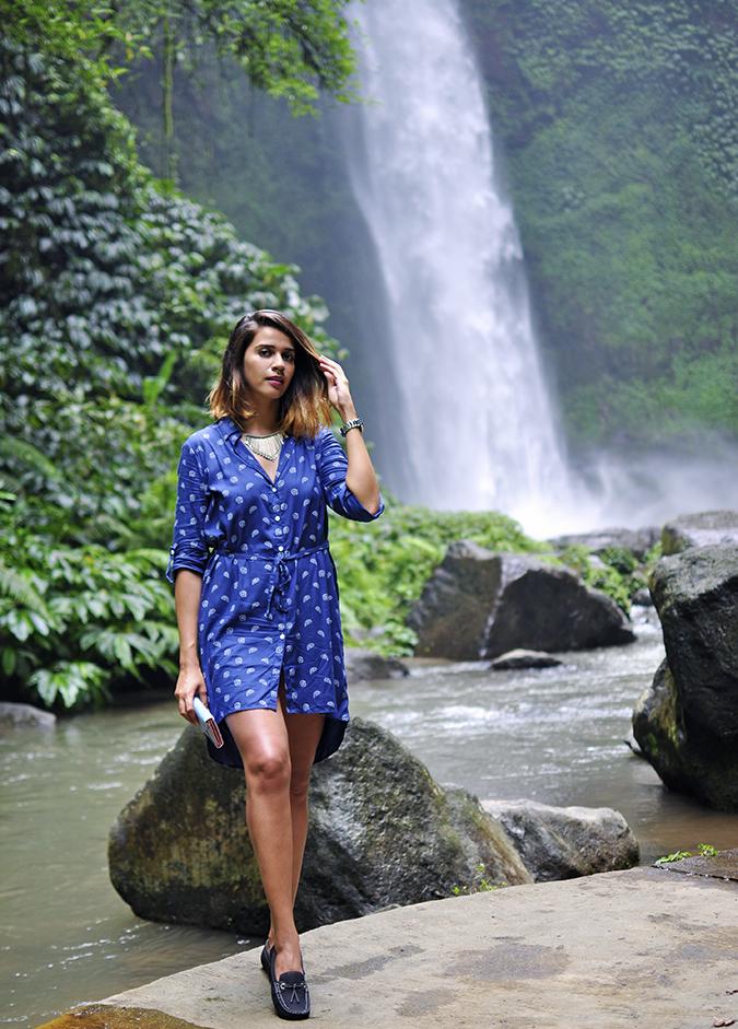 Nungnung Waterfall   Bali   Akanksha Redhu   full front waterfall