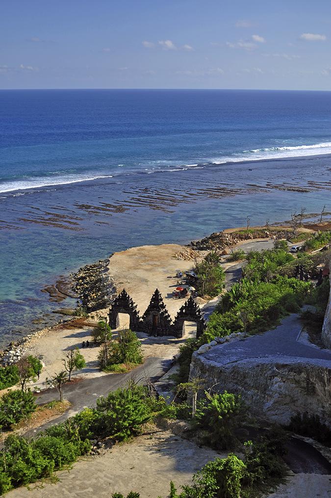 Pantai Melasti   Bali   Akanksha Redhu   beach gate camera long