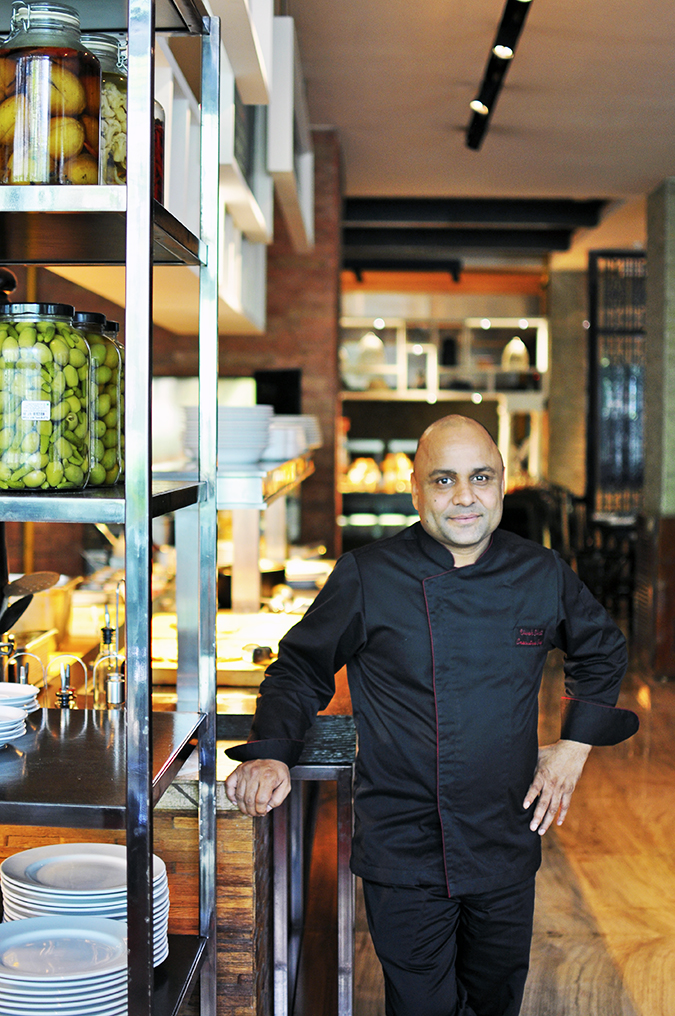 JW Marriott |Chef Vivek Bhatt | Akanksha Redhu | chef full front olives