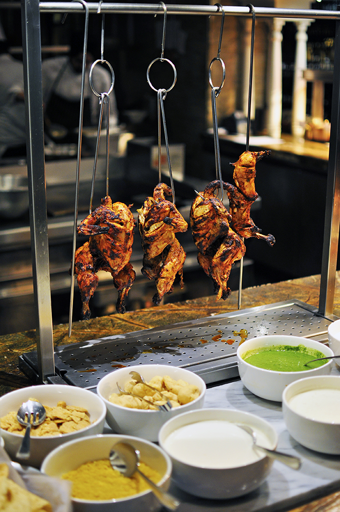 JW Marriott |Chef Vivek Bhatt | Akanksha Redhu | chicken hanging