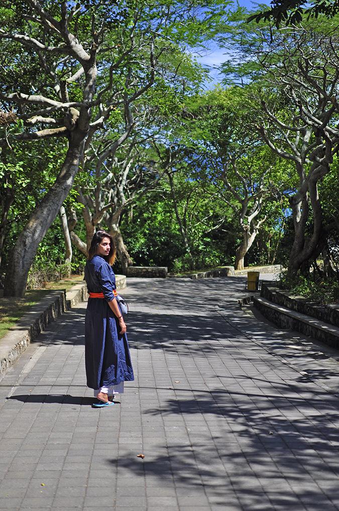 Uluwatu Temple | Bali | Akanksha Redhu | me on entry path