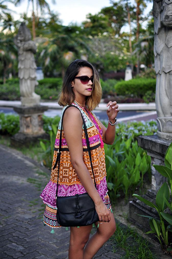 Nusa Dua | Bali | Akanksha Redhu | half side dress fly