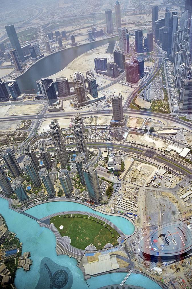 Emirates Holidays | Dubai | Akanksha Redhu | burj khalifa view 2